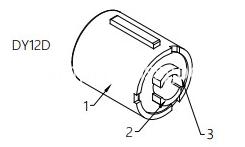 Barrel Damper For Car Door Handle