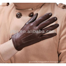 Men Newly Fashion Leather Deer Skin Gloves