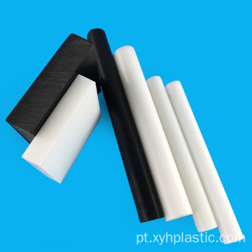 POM-C Acetal Plastic Rod Bar Red Estoque