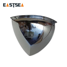 Venta al por mayor de la fábrica china diverso diámetro unbreakable Quarter Dome Multi Angle Mirror