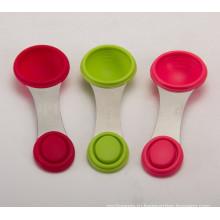 FDA SGS нетоксичная силиконовая мерная ложка