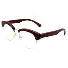 Mais recente tecnologia de madeira moda óculos (sz5686-5)