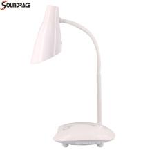 Lámpara de escritorio led de calidad plegable con atenuación