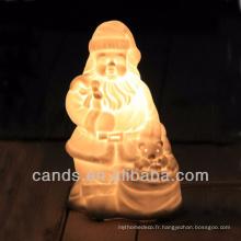 Éclairage décoratif de Noël Lampe de table en céramique
