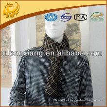 100% seda cepillada hombres cuello bufanda