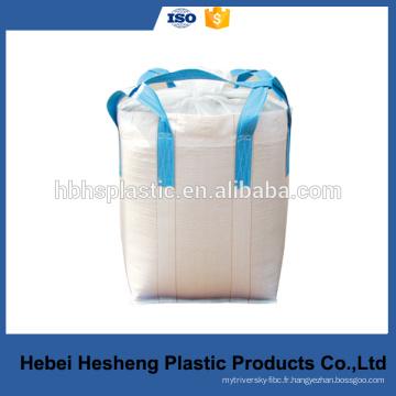 Sac de ciment en vrac tissé PP FIBC 1000 kg PP Big Bag