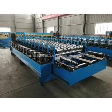 Máquina formadora de rolo de folha de telhado para caixa de engrenagens
