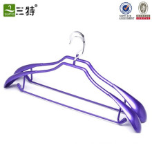 stainless pvc coated metal wet clothes hanger