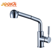 Manufacturer hot sales long neck pull out kitchen sink mixer taps