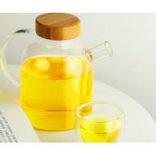Venta al por mayor de la caldera de cristal del zumo de la caldera de la taza de café del té del diseño nuevo