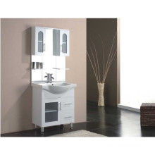 Floor Standing Gloss Painting MDF Bathroom Furniture