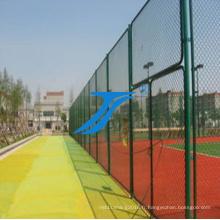 Clôture de tennis / barrière de stade, / maille de diamant / barrière de basket-ball