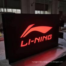 Factory direct selling Customized led luminous  light  box sign
