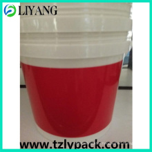 Simple Red, Heat Transfer Film for Plastic Bucket