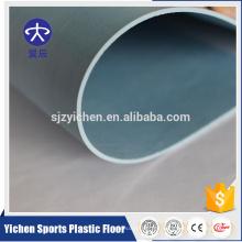 Hoja de rollo posterior sólido del suelo del vinilo del PVC