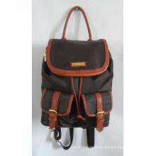 Moda Nylon Duffel School Travel mochila con su propia marca (A-011)