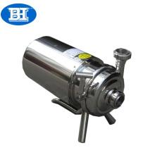 Pompe centrifuge hygiénique en acier inoxydable de qualité alimentaire pour eau de bière au lait