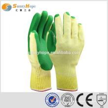 Gants pour la construction gants revêtus de latex gants à latex bon marché