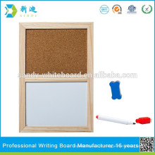 Eco-friendly meia placa de cortiça bordo branco na china