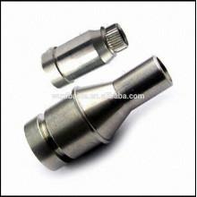 Piezas de torneado CNC de precisión de acero inoxidable, superficie de espejo piezas de acero inoxidable