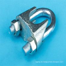 Galvanisierte Drahtseil-Klipps / Klammer des DIN741
