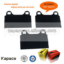 Kapaco Premium Quality Rubberized Brake pad shim D874 pour Mercedes-Benz Frein de frein