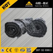 Komatsu excavator spare parts komatsu PC300-8 track shoe ass'y 207-32-03811