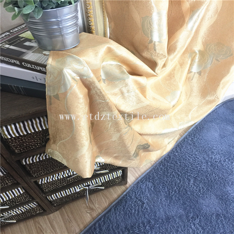 PIECE DYED BLACKOUT CURTAIN FABRIC