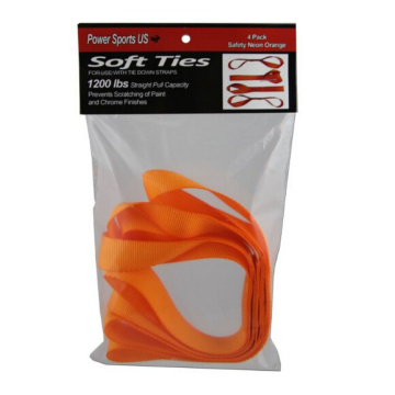 PET Poliéster Soft Loop Tie Down Correas 4-Pack