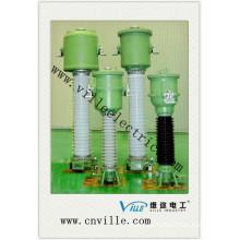 Transformador de corriente invertida con aislamiento de gas de la serie Sv6 de Lvqb