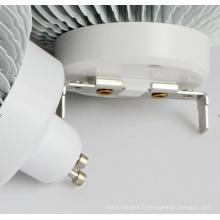 12W CREE COB LED GU10 E27 G53 Lampe LED