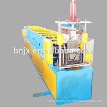 Prefab casa de colocação em pé painel de telhado máquina de formação de gotejamento