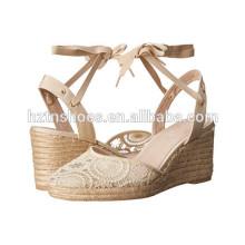 Chine Facotry Femmes Chaussures Wedge Vente en gros Ladies Mode Pomme à talons hauts