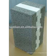 Теплоизоляционный пенный блок / кирпич