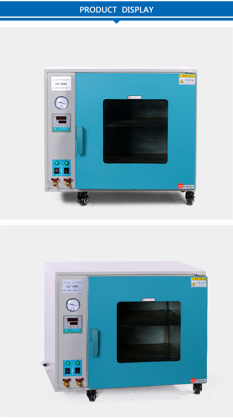 Desktop vacuum drier machine for laboratory