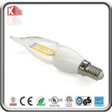 360 Degree E14 Mcob 3W 300lm LED Candle Light Bulb
