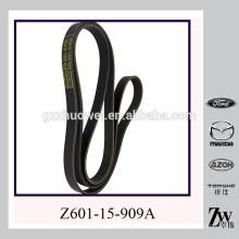 Courroie de distribution Chine EPDM Auto V-Ribbed Belts pour AUD-I / BM (W) / C (H) EVROLET / MI (T) SUBISHI / TOYOTA Z601-15-909