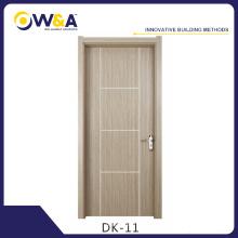 China Puertas de madera maciza de madera maciza tallada WPC de melamina Fabricante