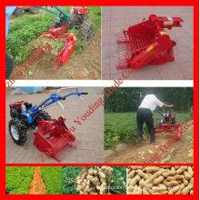 Moissonneuse-batteuse à haute teneur en arachides avec tracteur à main de 10 CV