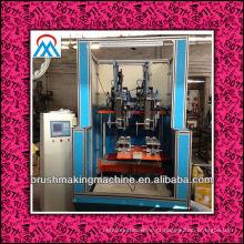 2014 venda quente 4 eixos CNC vassoura que faz a máquina / CNC escova fabricante / CNC vassoura máquina de acolchoar
