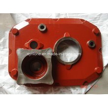 Red Gearbox with Sand Casting Process