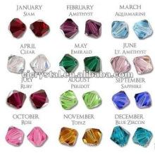 Perles de cristal bicone bon marché