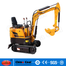GH10 Hydraulic mini excavator with bulldozing plate