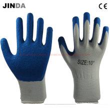Полиэфирные оболочки Латексные защитные рабочие защитные рабочие перчатки (LS209)