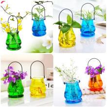 Style pastoral moderne décoration de mode en cristal Vase en verre