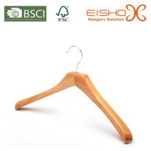 Cabide de madeira de luxo para marcas de vestuário (mc049)
