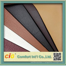 Stocks PU Leather for Furniture