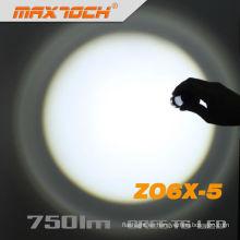 Maxtoch ZO6X-5 Zoom linterna de larga distancia de antorcha