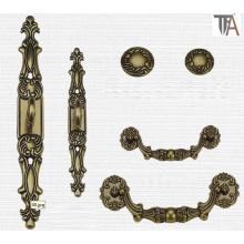 Many Colors Zinc Material Decorative Cabinet Handles