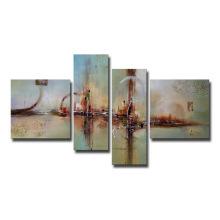 Pintura al óleo pintada a mano decorativa del arte de la lona